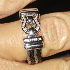 NWOT AUTHENTIC  CHARRIOL RING